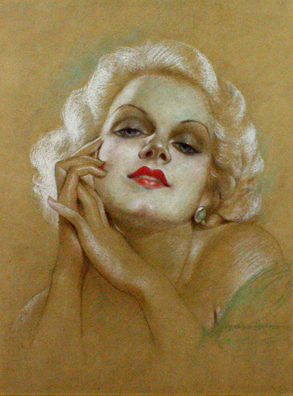 jean harlow new movie cover. Black Bedroom Furniture Sets. Home Design Ideas