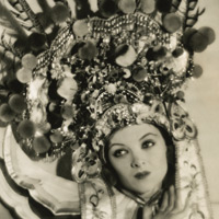 Myrna Loy, art deco, Show of Shows, Fu Manchu