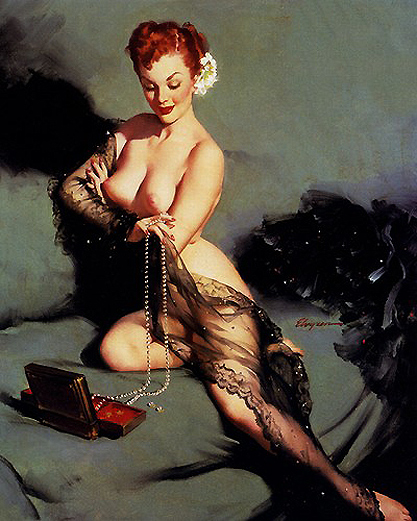 Fascination by Gil Elvgren