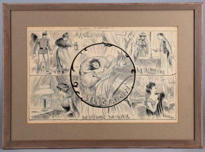 Framed in fine gallery frame