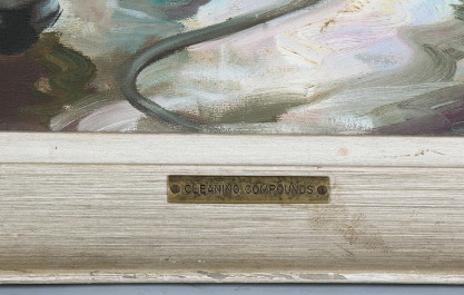 Name plate detail