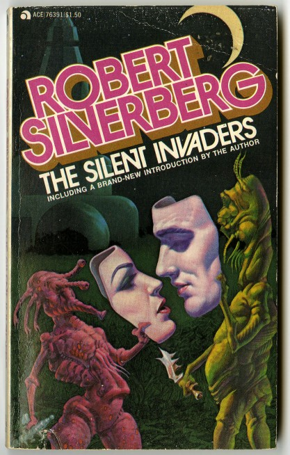 Paperback copy of The Silent Invaders ( included in sale)