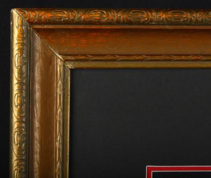 Corner detail of handsome frame