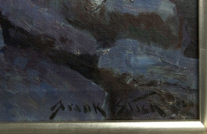 The artist's signature and date '29 lower right