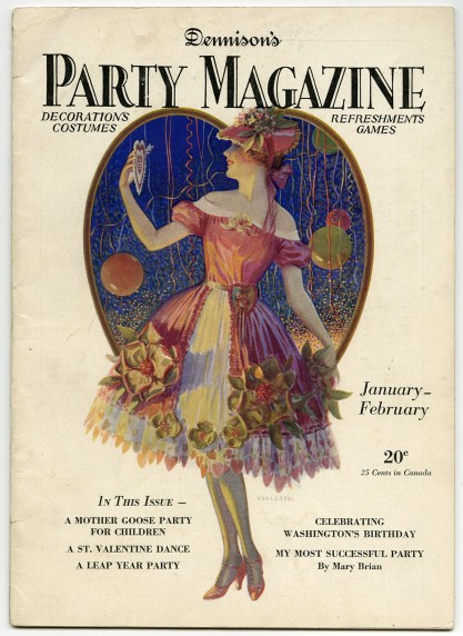 Published Dennison's Party Magazine included in sale