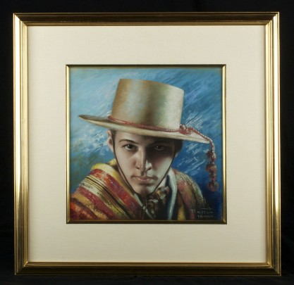 Framed in 22 carat gold leaf fine gallery frame