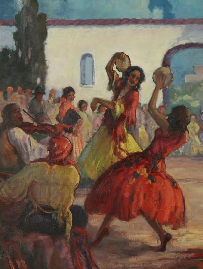 Spanish dancers