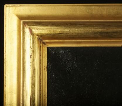 Frame profile and corner detail
