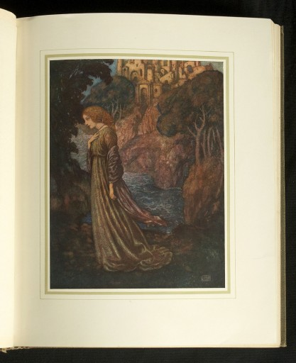 The Bells and other poems by Edgar Allan Poe, with illustrations by Edmund Dulac. Included in sale, featuring Annabel Lee.