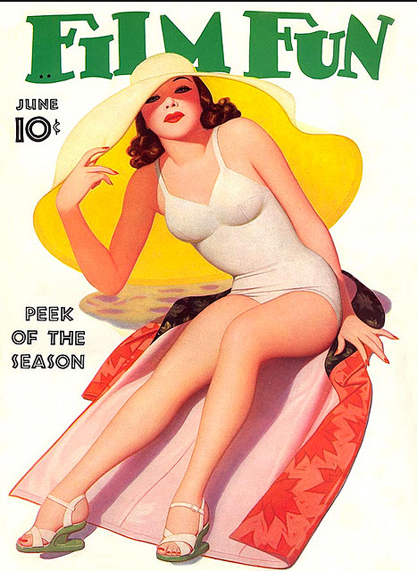 Film Fun Cover, June 1941