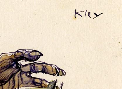 The artist's signature upper right