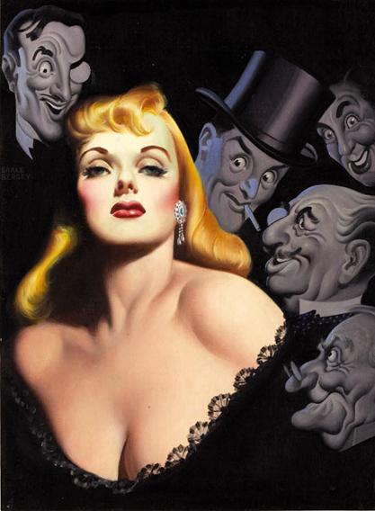 Gentlemen Prefer Blondes cover art by Earle Bergey