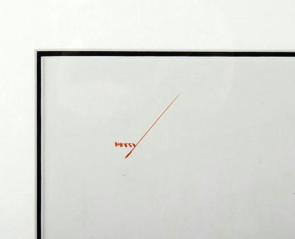 Artist's signature upper left