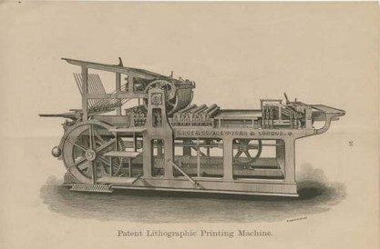 Rotary Lithographic Press