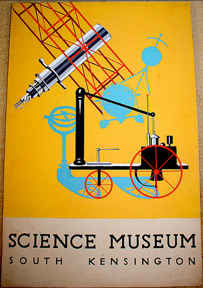 Poster Design Artwork for a Museum Show