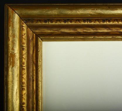 Frame profile corner detail