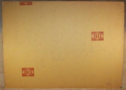 Verso view of illustration board