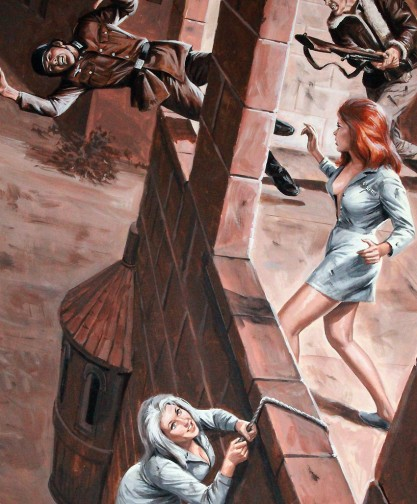 Detail of daring escape