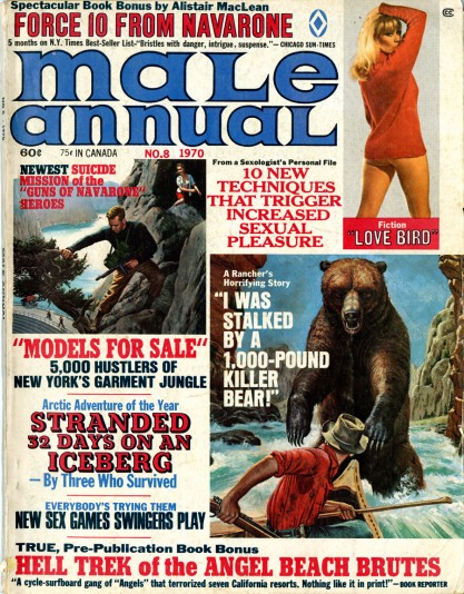 Male Annual #8, featuring illustration on pages 44- 45 included in sale