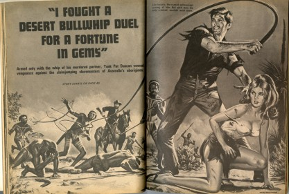 The illustration as it appeared in Male Annual #8, 1970