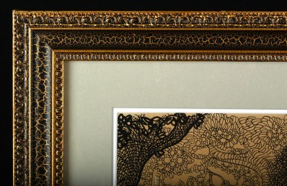 Ornate Frame Detail