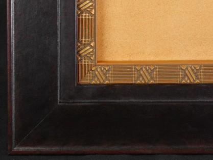 Detail of handsome gallery frame