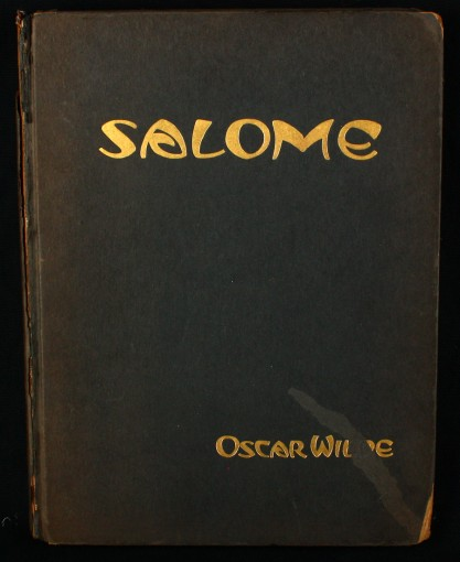 Salome by Oscar Wilde illustrated by John Vassos included in sale