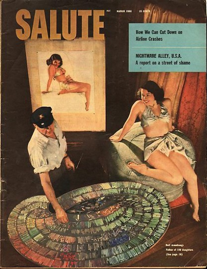 Salute Magazine, March 1948 (Included in sale)