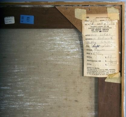 Verso gallery exhibit label