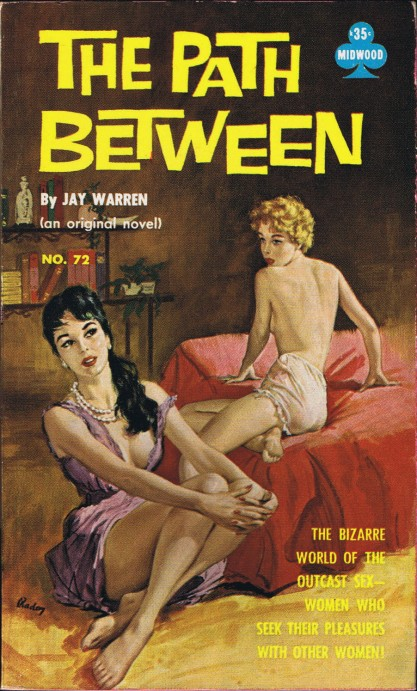 The Path Between Midwood paperback included in sale
