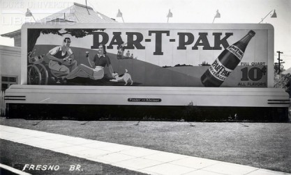 Nehi Ginger Ale in the Par-T-Pak vintage billboard display