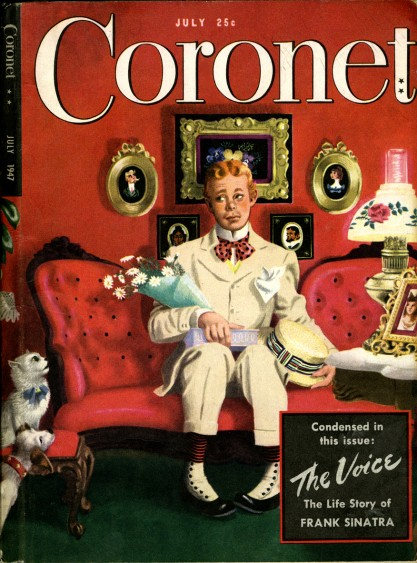 The July, 1947 Cover of Coronet Magazine