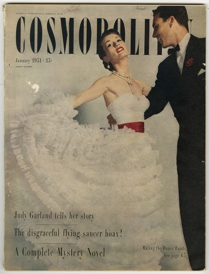 Published Cosmopolitan magazine is included in the sale