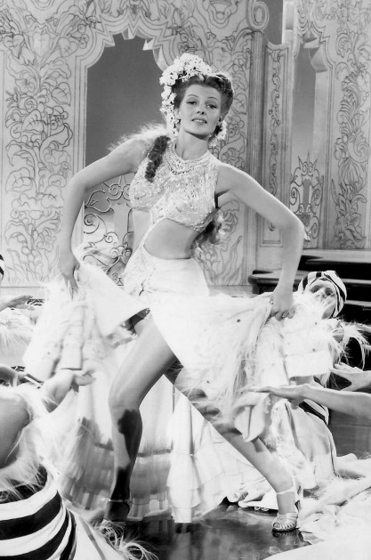 Rita Hayworth's Cut Out Gown in Tonight & Every Night, 1945