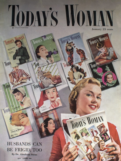 Today's Woman Magazine - January, 1951 (included in sale)