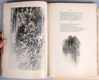 The illustration as it appeared in print (included in sale)