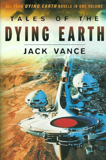As it appeared on the cover of Tales of the Dying Earth