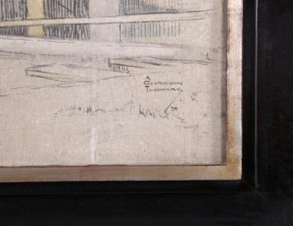 The artist's signature and date of '34 lower right