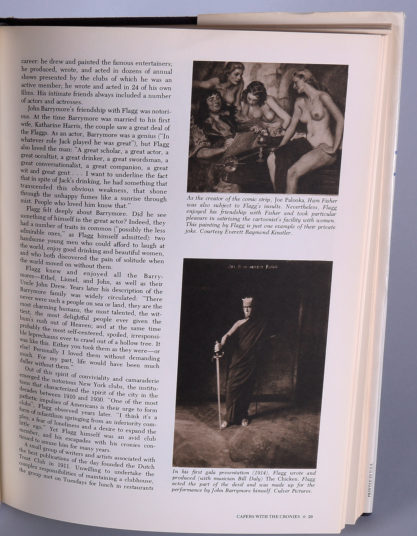 "The artwork as it appears on page 29 in the hardcover book - ""James Montgomery Flagg"" by Susan E. Meyer"