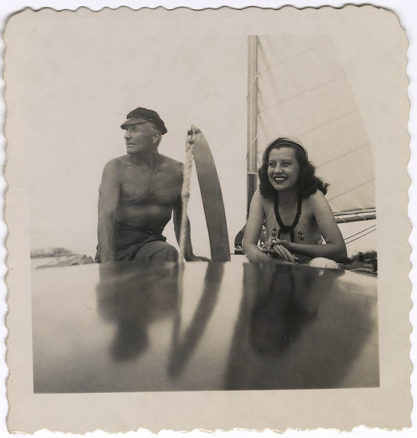 Jewel Flowers and Rolf Armstrong in Marblehead, MA.