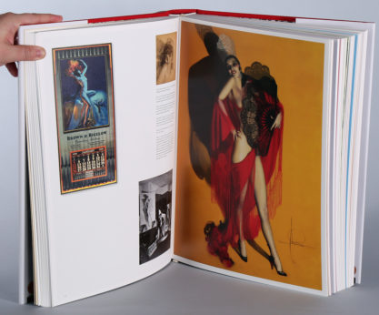 Carmen as an interior color-plate in The Art of Pin-up by Taschen Books