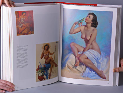 Interior color-plate - The Art Of Pin-Up, Taschen Books