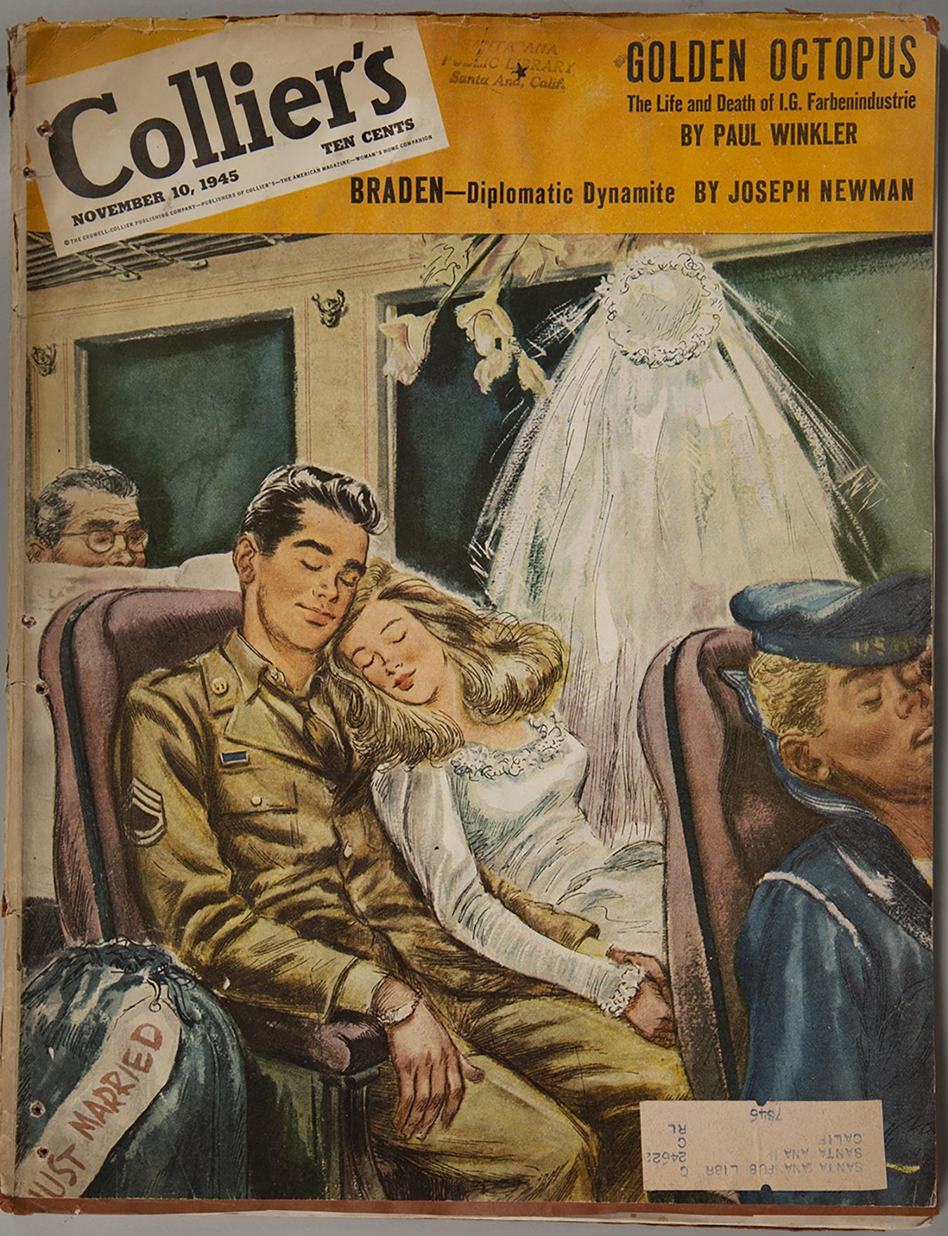 Collier's magazine (November 10, 1945)