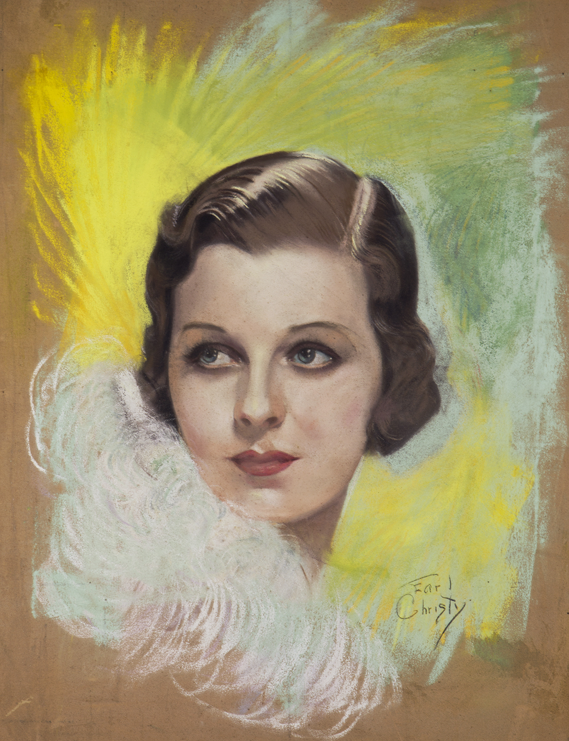 Margaret Sullavan by Earl Christy